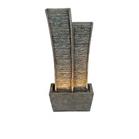 """Water Fountain with light. 47""""H"""