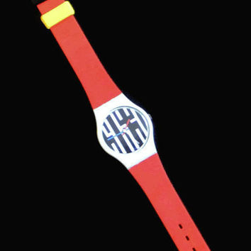 Vintage Swatch Watch, Speedlimit Swatch Watch, 1980's Swatch Watch, Retro Watch, Swatch Watch