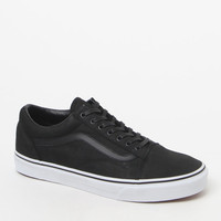 Vans Premium Leather Old Skool Black and White Shoes at PacSun.com