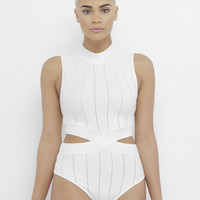 THE CLASS APPEAL BODYSUIT - OFF WHITE