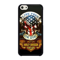 SKULL AND WINGS HARLEY DAVIDSON iPhone 5C Case