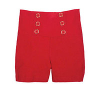 Red Sailor Short