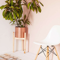 Henrik Wood Dowel Plant Stand - Urban Outfitters