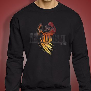 Final Fantasy Viii Logo Angel Men'S Sweatshirt