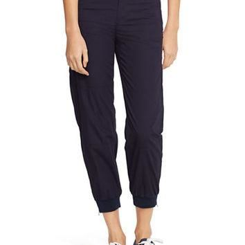Lauren Ralph Lauren Ribbed Hem Ankle Pants