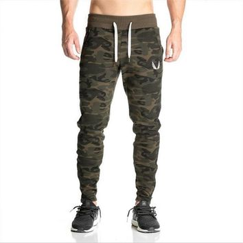 Jogging Pants Men Fitness Bodybuilding Sweatpants Joggers Workout Trousers Male Gym Training Running Pants Sport Leggings Camo