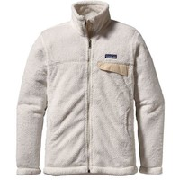 Patagonia Women's Full Zip Re-Tool Jacket - Raw Linen/White X-Dye