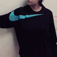 nike as m nsw big swoosh sweater