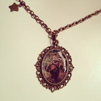 Star Wars Ewok Cameo Necklace  by RabbitJewellery on Etsy