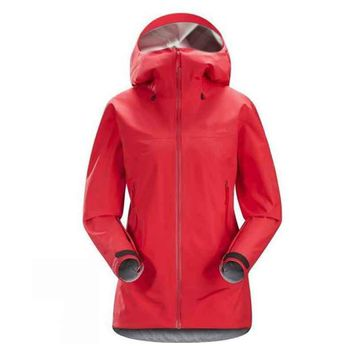 Women's Lightweight Waterproof Rain Jacket Hooded Windproof Raincoat Softshell Jacket for Outdoor Hiking Travel Camping Climing