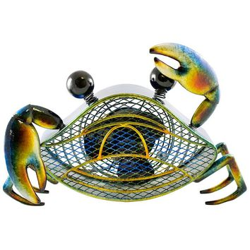 Figurine Fan - Blue Crab - Small