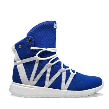 Super Freak Blue Lightning High Top Sneaker
