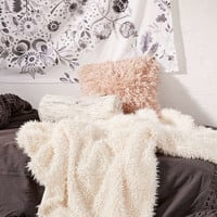 Faux Fur Throw Blanket - Urban Outfitters