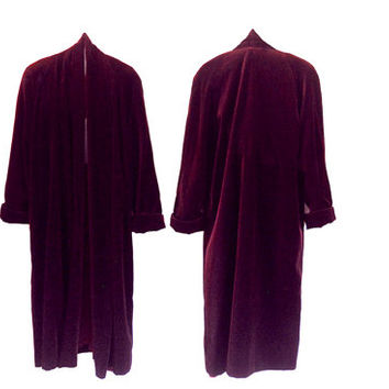 Plus Size Christmas Clothes Plus Size Coat Long Velvet Coat Burgundy Coat Long Winter Coat Christmas Clothing Maroon Evening Coat Long Red