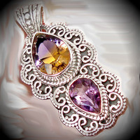 Ametrine and Amethyst for Stability and Control