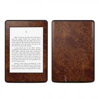 Kindle Paperwhite Skin Kit/Decal - Dark Burlwood