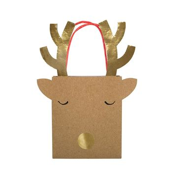 Small Reindeer Gift Bag