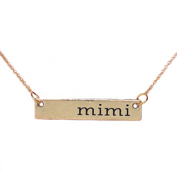 Simply Southern Necklace Mimi Bar