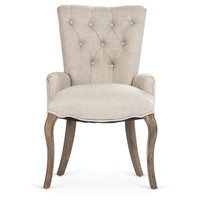 Claire Tufted Chair, Arm Chairs