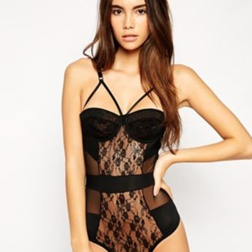 ASOS Millie Caged Body