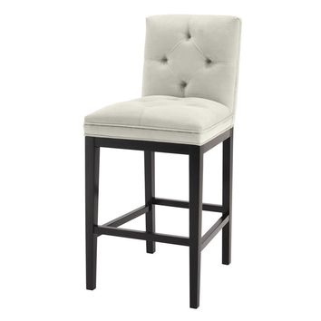 Pebble Grey Bar Stool | Eichholtz Cesare