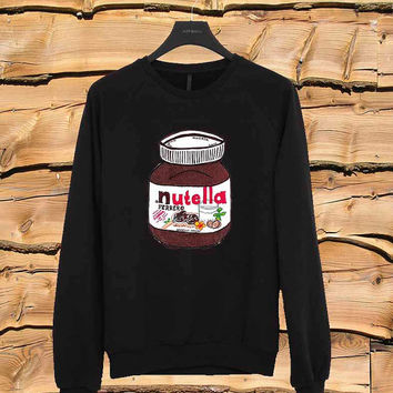 Nutella sweater Sweatshirt Crewneck Men or Women Unisex Size