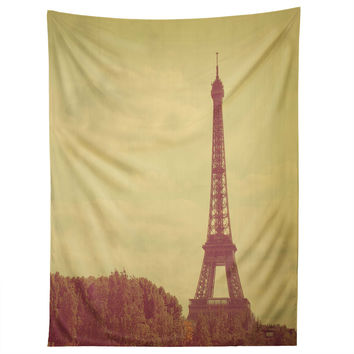 Happee Monkee Eiffel Tower Tapestry