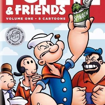 Popeye and Friends 11x17 Movie Poster (1976)