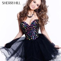 Sherri Hill Short 1530 at Prom Dress Shop