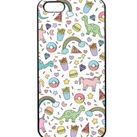 Iphone Unicorn and Pizza Cell Phone Case- LAST ONE