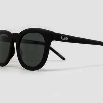 Quay Breakfast Club Black Sunglasses