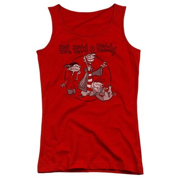 Ed Edd N Eddy - Gang Juniors Tank Top