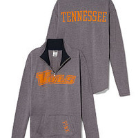 University of Tennessee Raw Half-zip Pullover - PINK - Victoria's Secret