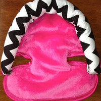 Add On to My Order Infant Head Support for Baby- Chevron Baby Head Support, Choose your design