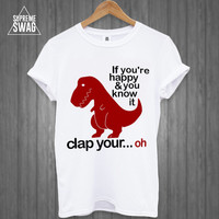 Mens swag hipster funny t-rex T-SHIRT new fresh Breaking Bad OFWGKTA dope cool homies supreme