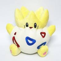 Pokemon Pocket Monster Togepi 20CM Plush Toys Cartoon Stuffed Dolls Children Birthday Gift High Quality