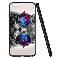 Hipster Cool Cat iPhone 6 | 6S Case Planetscase.com