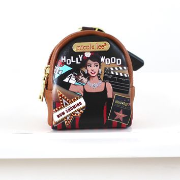Audrey Hepburn Backpack Key Chain