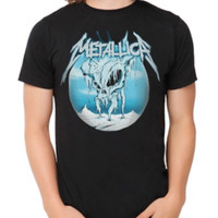 Metallica Ice Skull T-Shirt