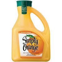 Walmart: Simply Orange Pulp Free Orange Juice, 2.63 l
