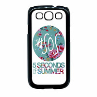 5 Seconds Of Summer Floral Pink Samsung Galaxy S3 Case