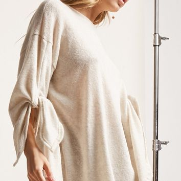 Oversized Round-Neck Sweater
