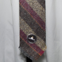 Wool Tie Lochcarron Shetland Scottish Ties Recycled Bottlecap Guiness Beer Button Mens Valentines Gifts Hipster Modern Man