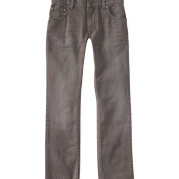 PS from Aero  Kids' Gray Wash Skinny Jean (Regular)