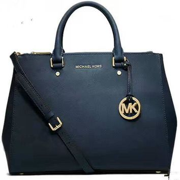MICHAEL KORS Women Shopping Fashion Leather Satchel Shoulder Bag Crossbody G-LLBPFSH-2
