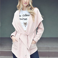 Cargo Jacket in Pink
