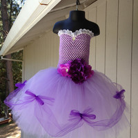Sofia the First inspired sweetheart tutu dress- pageant dress- birthday dress- wedding dress