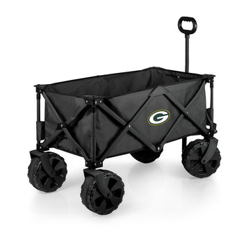 Green Bay Packers - Adventure Wagon Elite All-Terrain Folding Utility Wagon (Dark Grey)