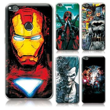 "Deadpool Dead pool Taco For Huawei P8 Lite 2017 Phone Cases Cover Charming Marvel Avengers Captain America  For Huawei P8 Lite 2017 5.2"" Cover AT_70_6"
