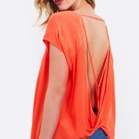 Orange Twist Top*